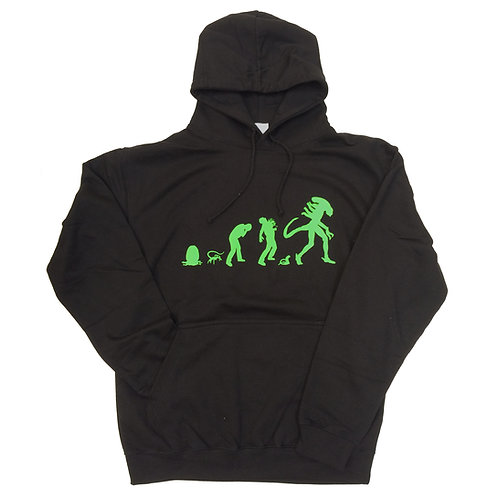 ALIEN EVOLUTION Design HOODIE for Film fans S - 5XL