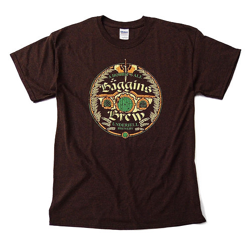 "Lord of the Rings inspired T-shirt ""Baggins Brew"" S - 3XL"