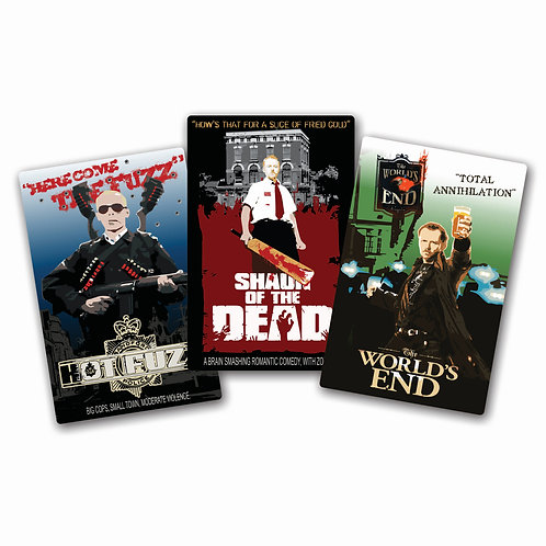 "CORNETTO TRILOGIE METAL POSTERS SET OF 3 ""SMALL SIZE"""