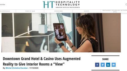 "Hospitality Technology Article on ""Transmigrations"""