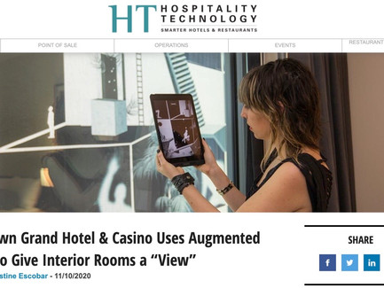 "Hospitality Technology Article on ""Transmigrations"""