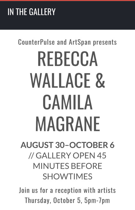"""Mecánica"" at CounterPulse Gallery"