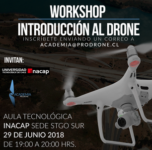 Workshop Introducción al drone