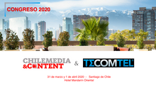 CHILE MEDIA CONTENT & TECOMTEL 2020. Tecomtel se une a Chile Media Content para realizar el Cong