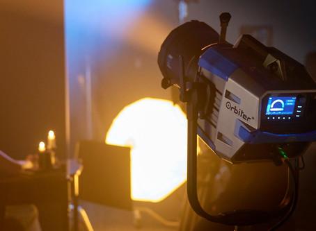 ARRI Presenta Orbiter, la fuente ultra luminosa de punto LED con variedad de ópticas