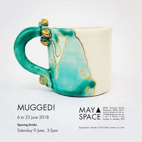 Meander series mug