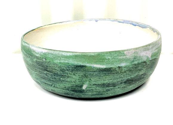 Stoneware large salad bowl
