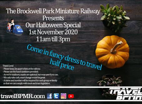 Halloween Special 1st November 2020