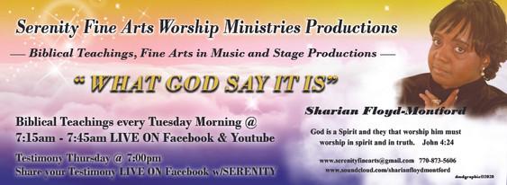 Serenity Fine Arts Worship Ministries Pr