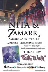 Nita & Zamarr, Gospel Artist: Booking Ad
