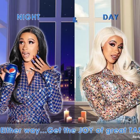 Cardi B Pepsi Ad
