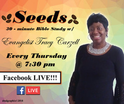 Evangelist Tracy Carzell, Facebook Live Ad