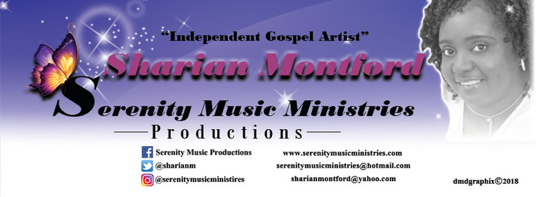 Sharian Montford, Gospel Artist: Facebook Cover Ad
