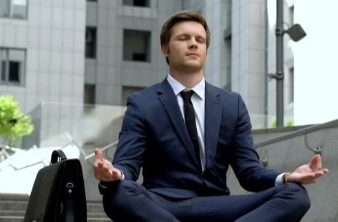 Home Office Online-Yoga für Unternehmen