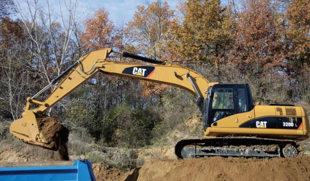 Escavadeira 320D 320DL 2 gran