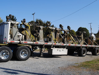 Just In! A truckload of nice Bridgeport milling machines and tooling