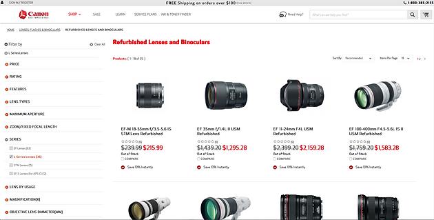 Why I Splurged for Canon's 35mm f1 4 ii