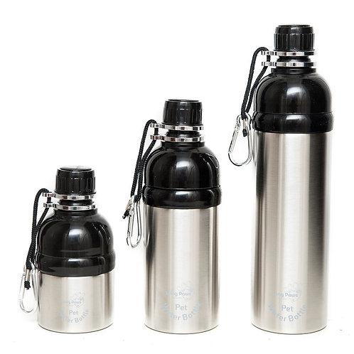 Pet Water Bottles - Silver