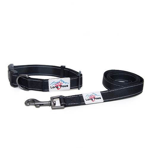 Reflective Collar & Leash Set