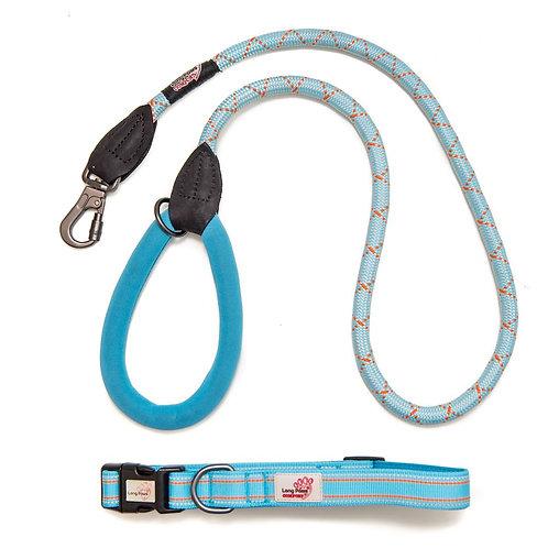 Blue Comfort Collar & Leash