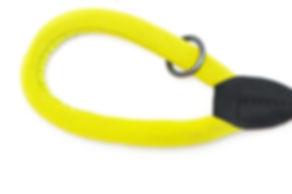 Comfort dog lead with soft neoprene paddde handle