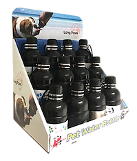Pet Water Bottle Display Stand