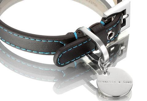 Nottingham Sailor Collar - Black/Blue