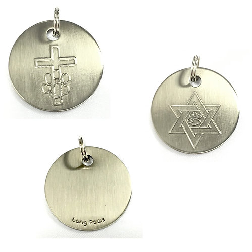 Religious Dog Tags (30mm)