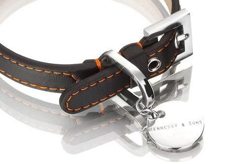 Nottingham Sailor Collar - Black/Orange