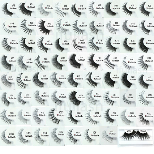 Cala Human Hair Strip Eyelashes