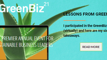 Six Takeaways from GreenBiz 21