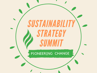 WSBC Invites You To Join The Sustainability Strategy Summit