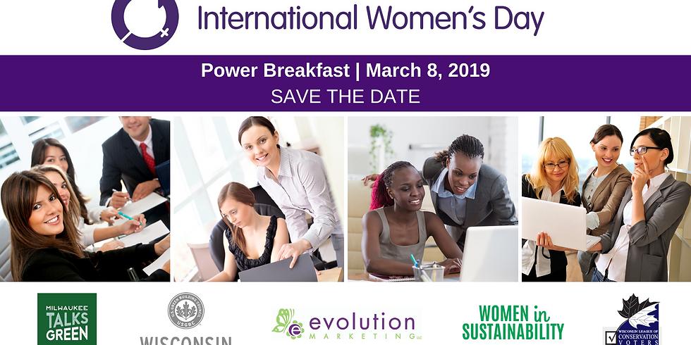 Women in Green, Power Breakfast