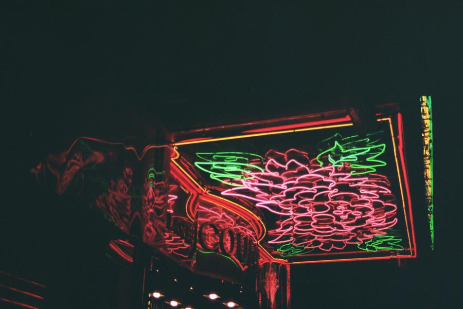 35mm color photo wan chai, hong kong