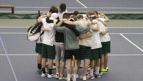 Record-breaking 13 wins is the lucky number for SVC men's tennis team
