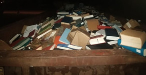 Mold and Renovation Spur Library Book Removal