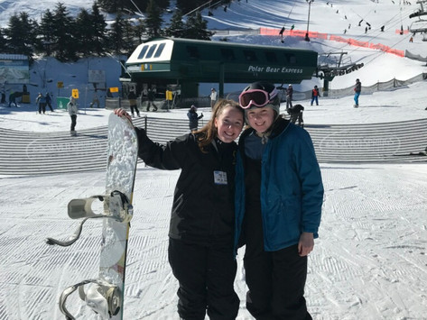Skiers hit the slopes in unofficial 'club'
