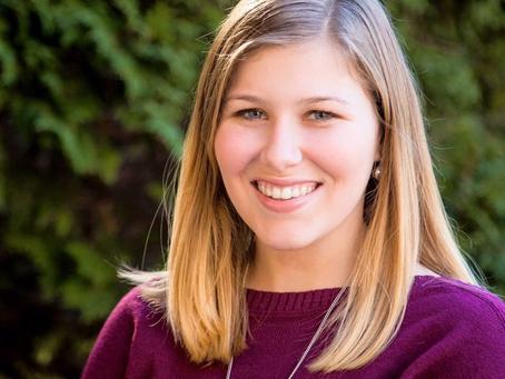Kayla Schehr brings spirit of service, compassion to Saint Vincent