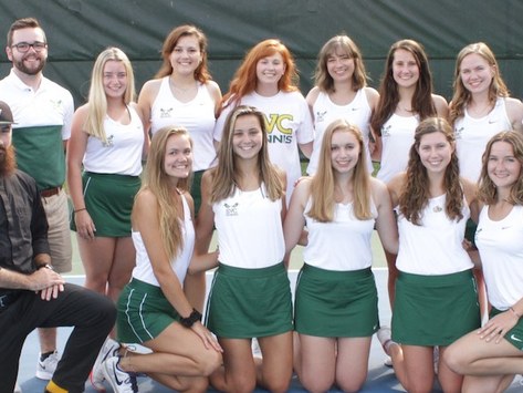 Hot Start Leads To Successful Tennis Season
