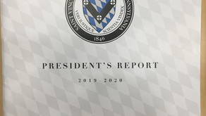 The President's Report: 2019-2020