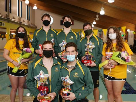 COVID-19 problems interrupt swim team's season