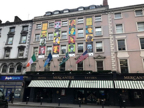 Just how literary was the Literary Dublin trip?