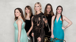 All-female brass quintet breaks the trend