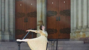 Westmoreland Ballet Company films in front of Basilica