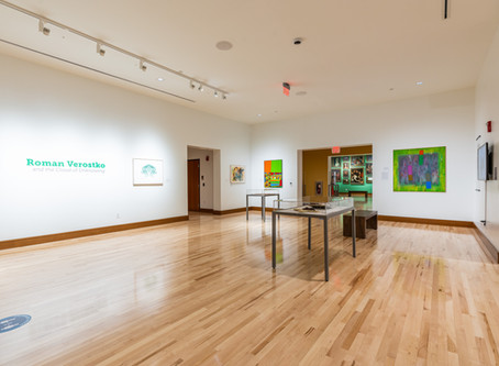 New gallery opens to on-campus visitors