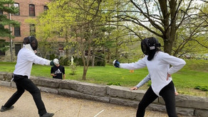 Faculty Fencing Match