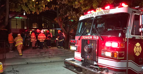 Units respond to possible high-risk fire