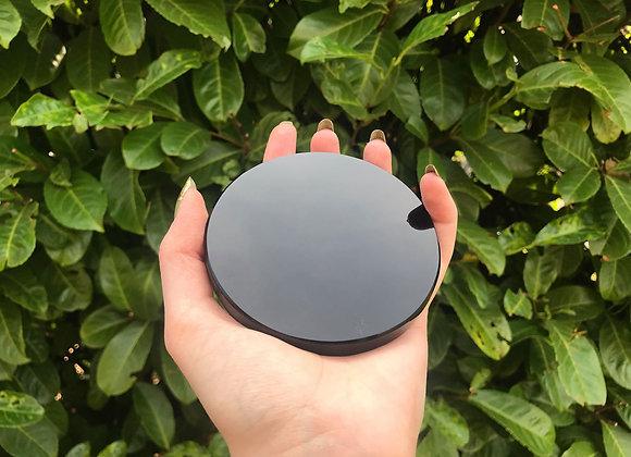 Obsidian Scrying Mirror
