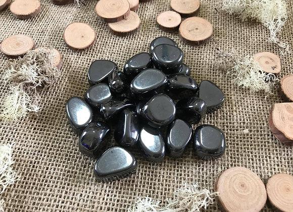 Hematite Tumble Stone - Medium