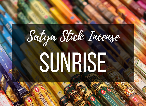 Sayta Sunrise Incense